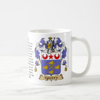 Sperry, el origen, el significado y el escudo taza