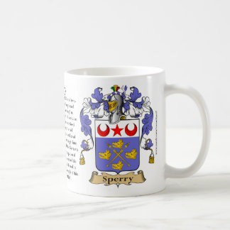Sperry, the Origin, the Meaning and the Crest Coffee Mug