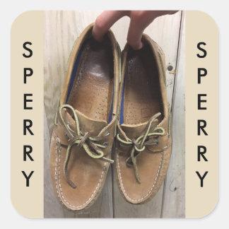 Sperry's Woody Sticker