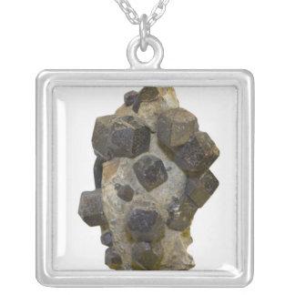 Spessartite in Matrix Custom Necklace