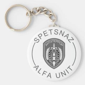 Spetsnaz Alfa Keychain