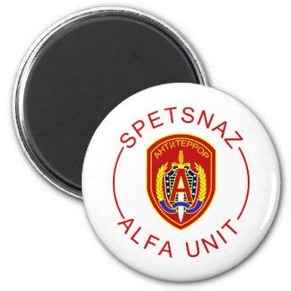 Spetsnaz Alpha 2 Inch Round Magnet