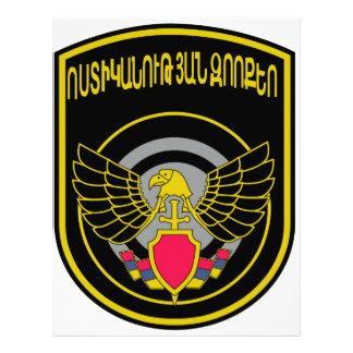 SPETSNAZ stofmarker Special ForcesMinistry of Inte Letterhead