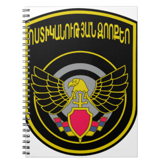 SPETSNAZ stofmarker Special ForcesMinistry of Inte Spiral Note Books