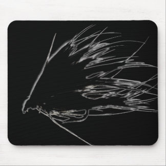 Spey Fly Silhouette Mouse Pad