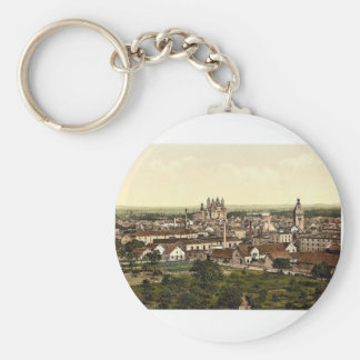 Speyer, general view, the Rhine, Germany rare Phot Basic Round Button Keychain