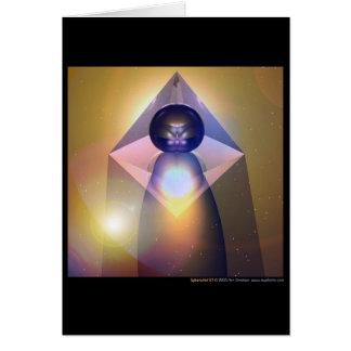 Spheramid #7 tarjeta de felicitación