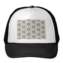 Sphere design pattern trucker hat