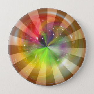 Sphere Fantasy Abstract Art 5 Button