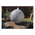Sphere Fountain Greeting Card
