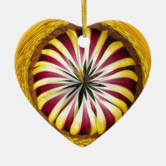 Sphere of Gazania Ceramic Ornament