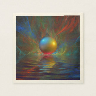 Sphere Reflection Paper Napkins