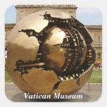 Sphere Square Sticker