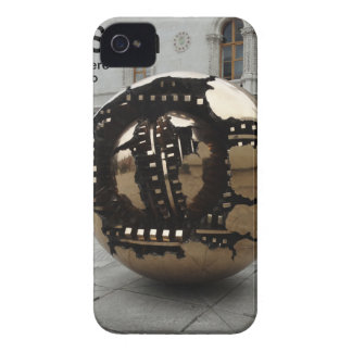 Sphere within sphere Dublin Ireland iPhone 4 Cover