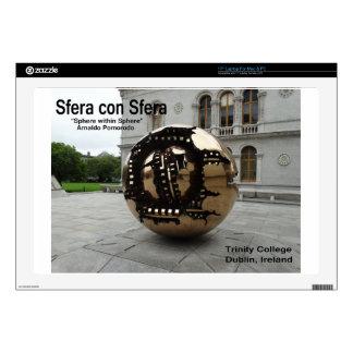 Sphere within sphere Dublin Ireland Laptop Skin