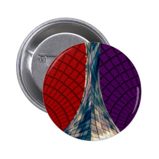 Spheres and Pyramids - Holistic Colors 2 Inch Round Button