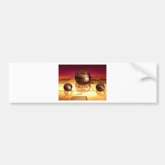 Spheres Bumper Sticker