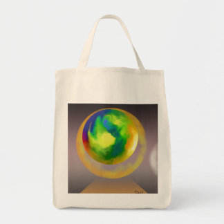 Spheres Climbing Abstract Tote Bag