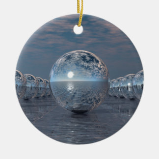 Spheres In The Sun Ceramic Ornament