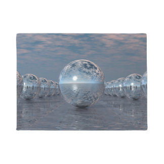 Spheres In The Sun Doormat