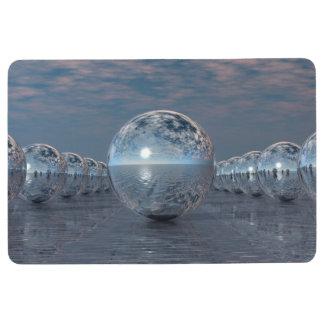 Spheres In The Sun Floor Mat