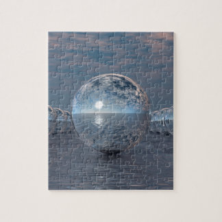 Spheres In The Sun Jigsaw Puzzle