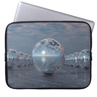 Spheres In The Sun Laptop Sleeve