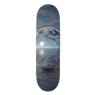 Spheres In The Sun Skateboard Deck