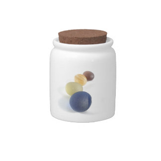 Spheres of Seaham Sea Glass Candy Jar