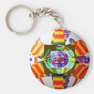 Spheres original design dpmartdesign 2009 basic round button keychain
