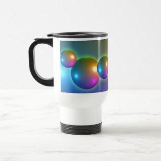 Spheres Shiny 15 Oz Stainless Steel Travel Mug