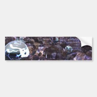 Spheroid Assault Car Bumper Sticker