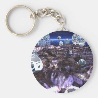 Spheroid Assault Keychains