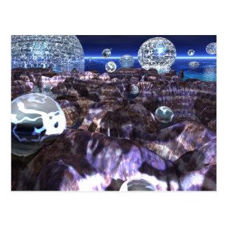 Spheroid Assault Postcard