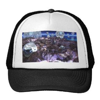 Spheroid Assault Trucker Hat