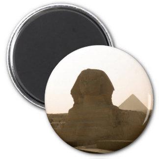 Sphinx 2 Inch Round Magnet