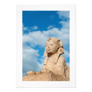 Sphinx, Alexandria, Egypt Personalized Announcement