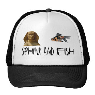 Sphinx And Fish Trucker Hat