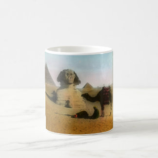Sphinx and Pyramid Mug