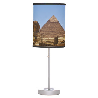 Sphinx And Pyramid Table Lamp