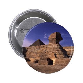 Sphinx and Pyramids at Giza Cairo Egypt Pin