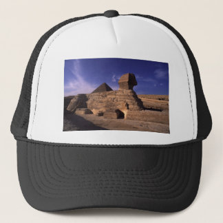 Sphinx and Pyramids at Giza Cairo Egypt Trucker Hat