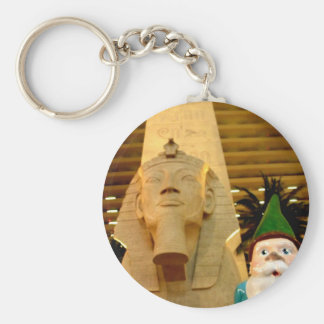 Sphinx and Sam Keychain