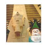 Sphinx and Sam Memo Note Pad