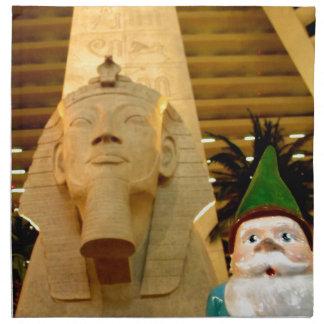 Sphinx and Sam Napkin