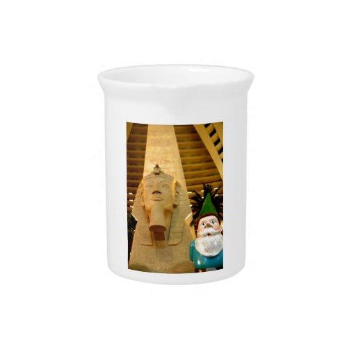 Sphinx and Sam Beverage Pitchers