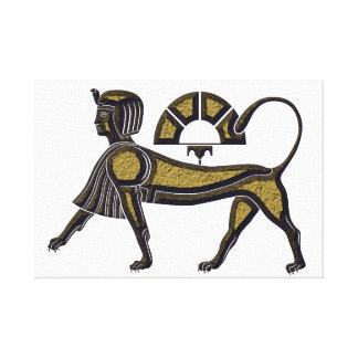 Sphinx Canvas Print