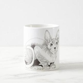 Sphinx Cat Coffee Mug