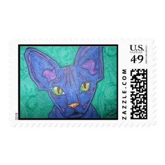 Sphinx Cat Stamps