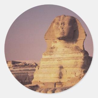Sphinx Classic Round Sticker